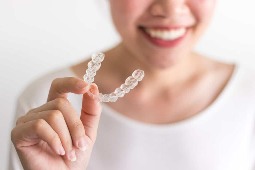 Invisalign cleaning